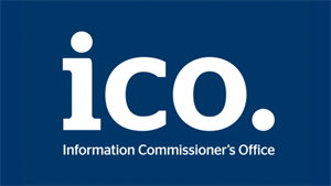 Blue and white Information Commissioners Office (ICO) logo.