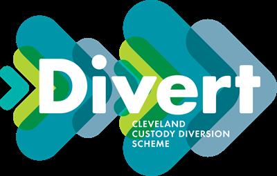 Divert Cleveland Custody Diversion Scheme logo.
