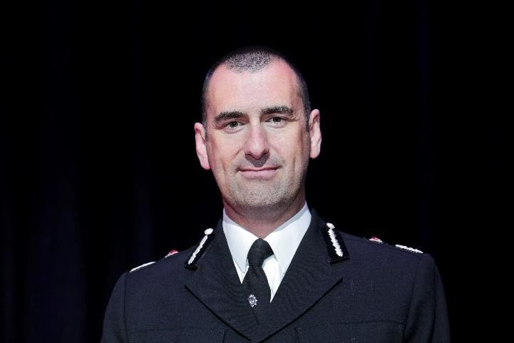 Chief Constable smiling