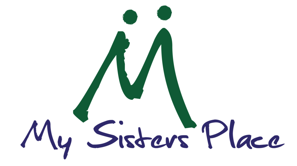 My Sisters Place logo.