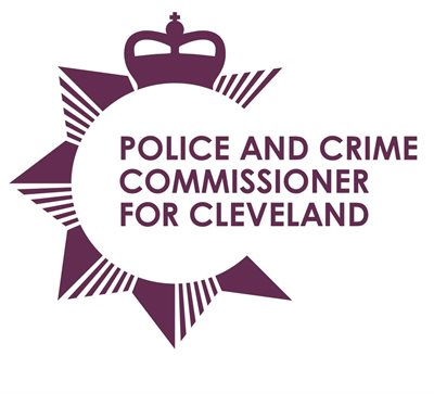 Police and Crime Commissioner got Cleveland logo in purple