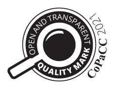 Transparency quality mark