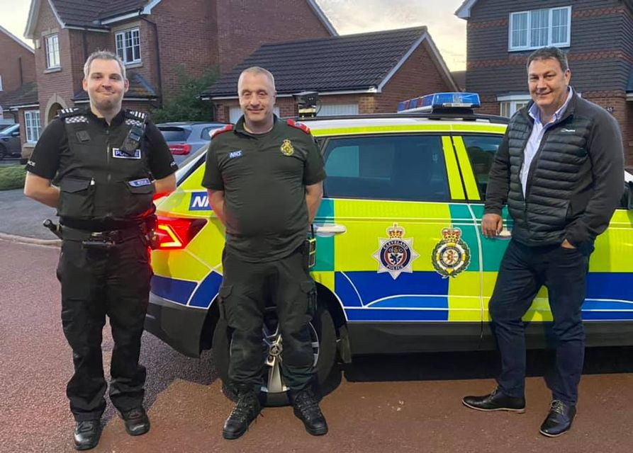 Special constables, Medicar and PCC Steve Turner
