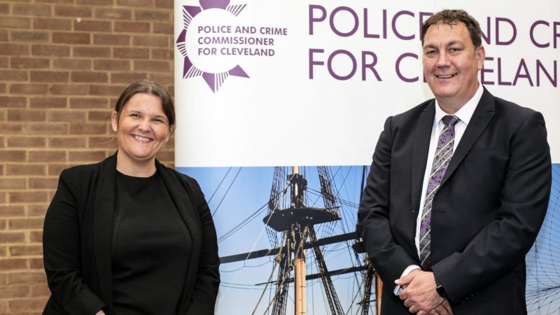 Lisa Oldroyd and Steve Turner